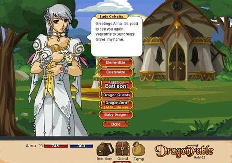 Dragon Fable on mmofacts com