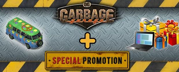 Exklusive Geschenke zum Start in Garbage Garage