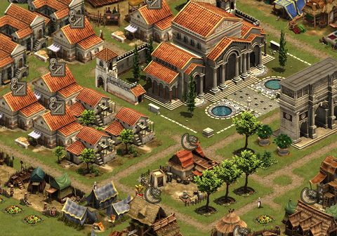how to build roads forge of empires