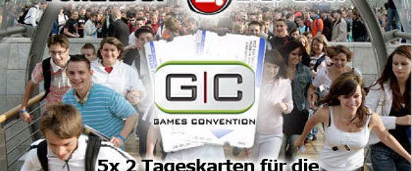 5x 2 Tageskarten für die Games Convention 2007
