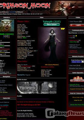 Free MMORPG Rusty Hearts Vampire RPG, Online Devil My Cry ...