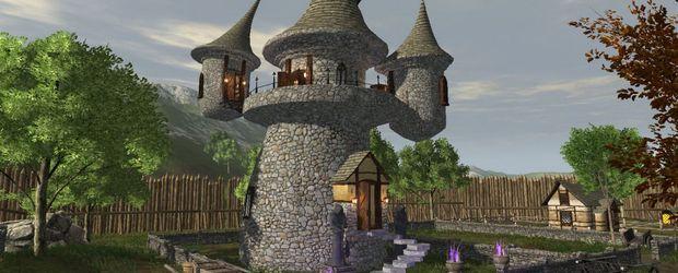 Der Verkauf virtueller Häuser gegen echtes Geld